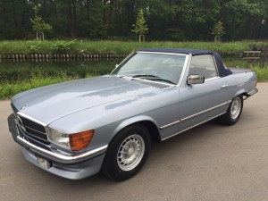 Mercedes 280 SL 1980 7